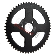 54 Tooth Reinforced Rear Sprocket for Large Chain 3T - TF8 (type 1)