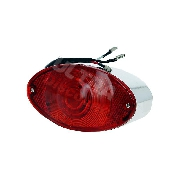 Rear lamp LED for DAX - CHROME