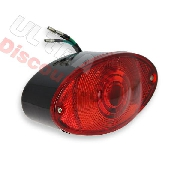 LED Tail Light for Skyteam DAX - BLACK