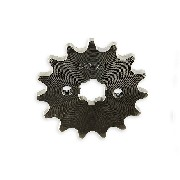 15 Tooth Front Sprocket for TREX 50cc 125cc 420