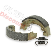 Front Brake Shoes for Yamaha PW80