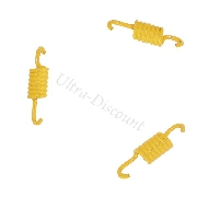Set of 3 Yellow Clutch Springs for Baotian Scooter BT49QT-12 - Soft Springs