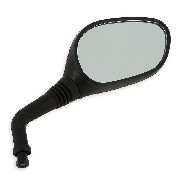 Right Mirror for Baotian Scooter BT49QT-12 - Black