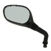 Left Mirror for Baotian Scooter BT49QT-9 - Black