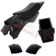 Fairing for ATV Pocket Quad type 1 - Black
