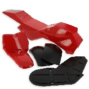 Fairing for ATV Pocket Quad type1 - Red