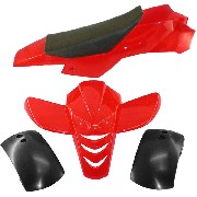 Fairing for ATV Pocket Quad type 2 - Red