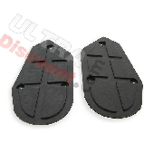 pair of footrest Pocket ATV