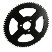 70 Tooth Reinforced Rear Sprocket small pitch pocket quad
