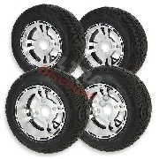 Set of 4 Wheels for ATV Shineray Quad 250cc ST9C