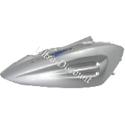 Right Side Fairing for Chinese Scooter (type 1) - Gray - Blue