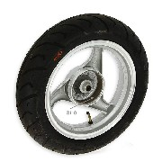 Rear Wheel for Chinese Scooter (Silver - type 1)