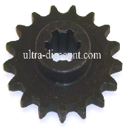 15 Tooth Front Sprocket for Cross Pocket Bike