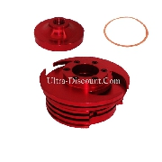 Racing Cylinder Head (type C) - Red