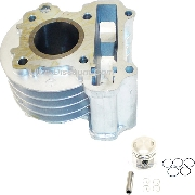 Piston Kit + Cylinder for Engine 50cc GY6 4-stroke