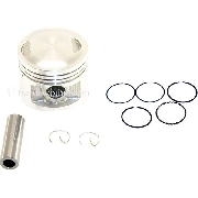 Piston Kit for Dirt Bike 107cc - 110cc 4-stroke (type 1)
