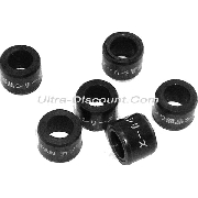Set of 6 Roller Weights for Baotian Scooter 50cc 4-stroke - 9g