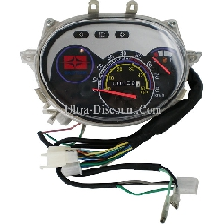 Speedometer for Baotian Scooter BT49QT-7