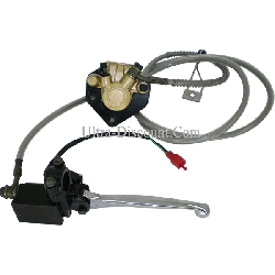 Complete Rear Brake Assy for Baotian Scooter BT49QT-12 (type 1)