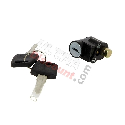 Steering Lock Mechanism for ATV Bashan Quad 200cc (BS200S-3)