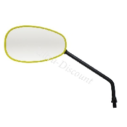 Left Mirror for ATV Bashan Quad 200cc (BS200S-7) - Yellow