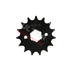 15 Tooth Front Sprocket for ATV Bashan Quad 200cc (428H, BS200S-7)