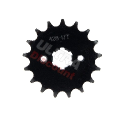 17 Tooth Front Sprocket ATV Bashan Quad 200cc (428H, BS200S-7)