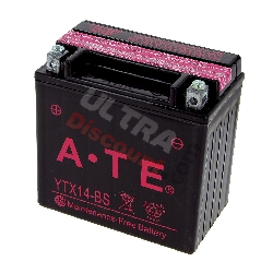 Battery YTX14-BS for ATV Bashan Quad 300cc (BS300S-18)