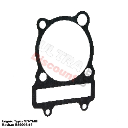 Cylinder Base Gasket for ATV Bashan Quad 300cc (BS300S-18)