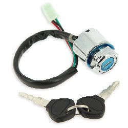 Lock Assy for Dirt Bike (type 3) - 4 wires