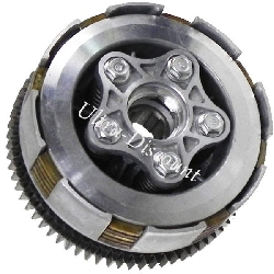 Clutch for Dirt Bike 200 and 250cc, Type 2
