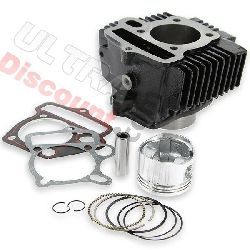 Cylinder Kit black for Dirt Bike 125cc - Lifan Engine 1P52FMI