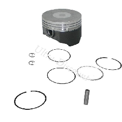 Piston Kit with Molybdenum Coating for ATV 107cc - 110cc (type 1)