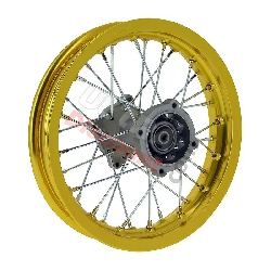 12'' Rear Rim for Dirt Bike (type 2) - Gold