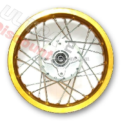 12'' Rear Rim for Dirt Bike (type 3) - Gold