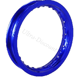 12'' Rear Rim for Dirt Bike - Blue