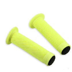 Non-Slip Handlebar Grip Yellow for Bashan Parts ATV 250cc BS250S11