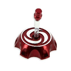 Gas Tank Cap for Dirt Bike (type 2) - Red