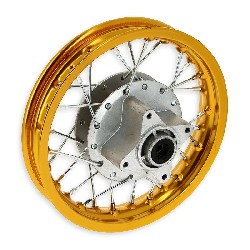 10'' Rear Rim for Dirt Bike (type 2) - Gold