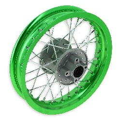12'' Rear Rim for Dirt Bike (type 1) - Green