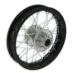 12'' Rear Rim for Dirt Bike (type 1) - Black