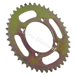 37 Tooth Reinforced Rear Sprocket for Dirt Bike (model 1 - pitch 420)
