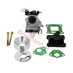 Full High-pressure 15mm Carburetor for Motorized Scooter Parts