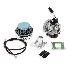 Carburetor Kit + Carbon Reed Valve Blade