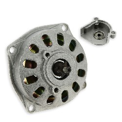 Clutch Bell + Housing + 6 Tooth Sprocket TF8 (large pitch)