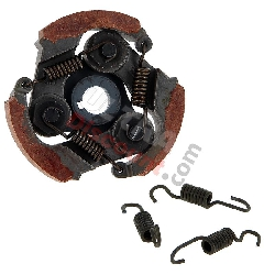 3-shoe Clutch + Racing Springs for Pocket Bike