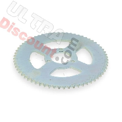 64 Tooth Reinforced Rear Sprocket for Large Chain 3T - TF8 (type 3)