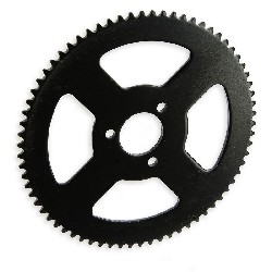 70 Tooth Reinforced Rear Sprocket small pitch for pocket bike