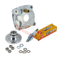 High Performance Cylinder Head for Pocket Bike Polini