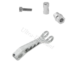 Drum Brake Arm for Jonway Scooter (type 1) - Alu